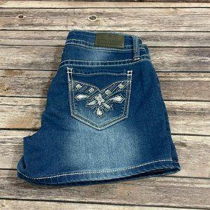 Hydraulic Denim Shorts Low Rise Jean Bailey 9/10